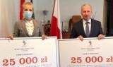 Gniezno. Dwa stypendia po 25 tys. zł dla uzdolnionej młodzieży z powiatu