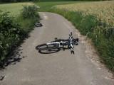 Budzyń. Potrącenie rowerzysty. Kierujący został zabrany do szpitala.