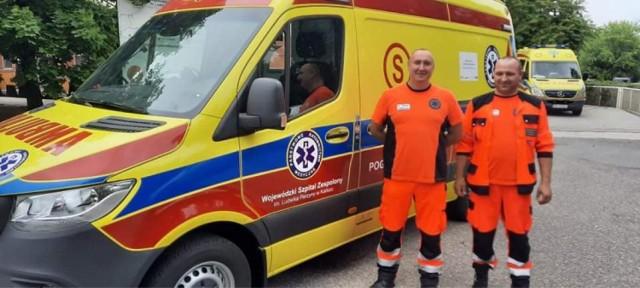 Szpital w Kaliszu wzbogacił się o nowy ambulans