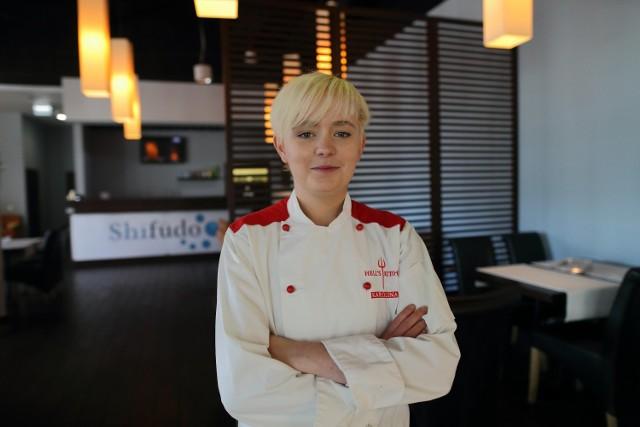 Karolina Sadura z Piotrkowa  była uczestniczką szóstej edycji kulinarnego show Hell's Kitchen