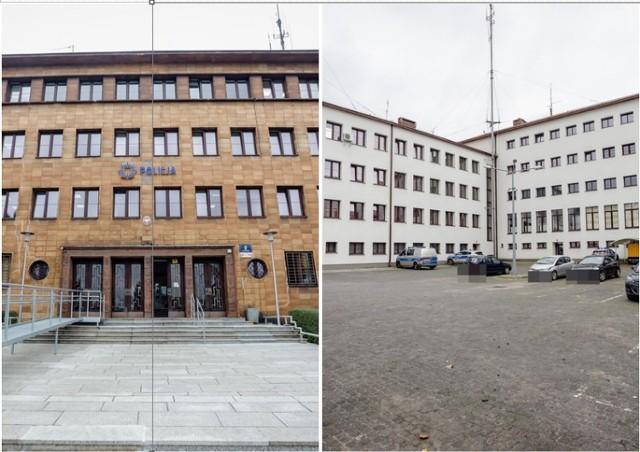 Tak wygląda w środku Komenda Miejska Policji w Wałbrzychu