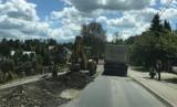 Trwa remont powiatówki Chełmiec-Marcinkowice