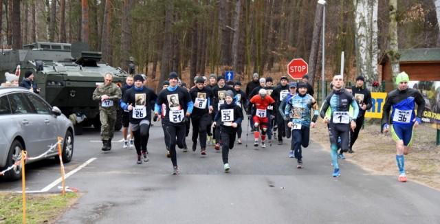 W biegu wystartowało 38 zawodników.