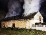 Pożar w Mazówkach to podpalenie? Zwierzęta udało się ewakuować