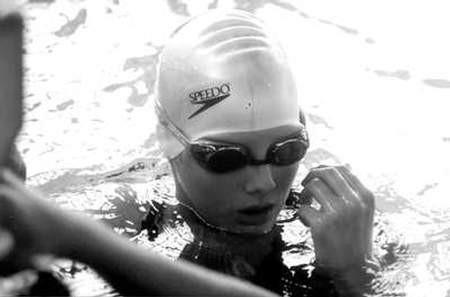 Anna Kowalczyk zdobyła sześć medali i została uznana najlepszą 13-latką tych mistrzostw.  ZDJĘCIE: ARCHIWUM KLUBU