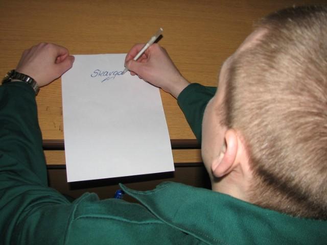 Więźniowie skargi piszą...
