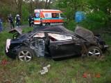 Wypadek na Szczecińskiej/Sianokosy - jedna osoba nie żyje