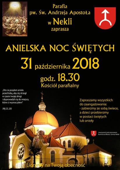Powiat Września: Noc świętych, zobacz w jakiej parafii i o której