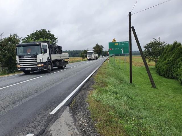 Droga krajowa nr 45 pomiędzy Bierdzanami a Kuniowem będzie przebudowana.
