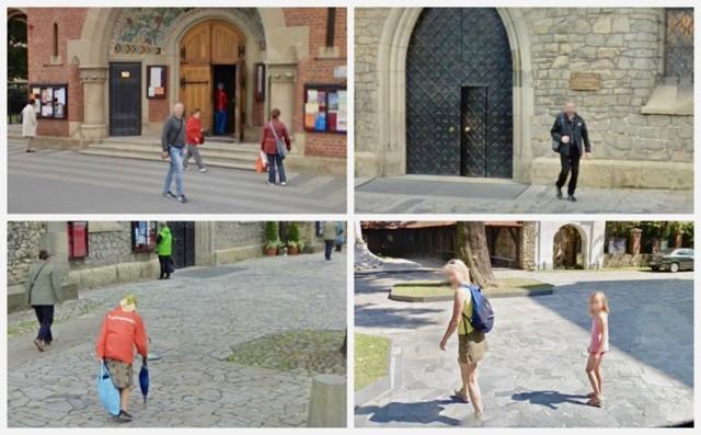 Sądeckie kościoły w Google Street View