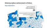 Pandemia. Zachodniopomorskie - 28 zgonów, p. sławieński - 3 zgony ZDJĘCIA - 14.01.2021