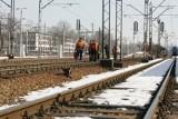 Śmiertelny wypadek w Sosnowcu. Pociąg potrącił mężczyznę [ZDJĘCIA]