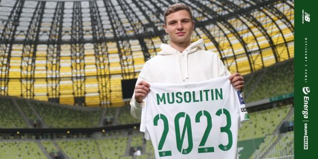 Mykoła Musolitin będzie grał w Lechii Gdańsk z numerem 78