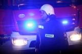 Wypadek samochodu osobowego zablokował drogę krajową nr 28 w Paszynie