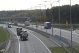 Ciężarówką z naczepą pod prąd jechał po autostradzie A1! Okazało się, że ma COVID-19