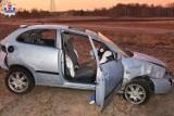 Wypadek w Przypisówce koło Lubartowa. Pięć osób wypadło z auta. 23-latka zginęła