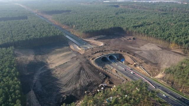 Pomiędzy Goleniowem a Szczecinem można się już poruszać dwoma nitkami autostrady A6