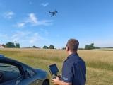 Patrole z pomocą drona znów owocne. Policjanci wystawili łącznie 46 mandatów