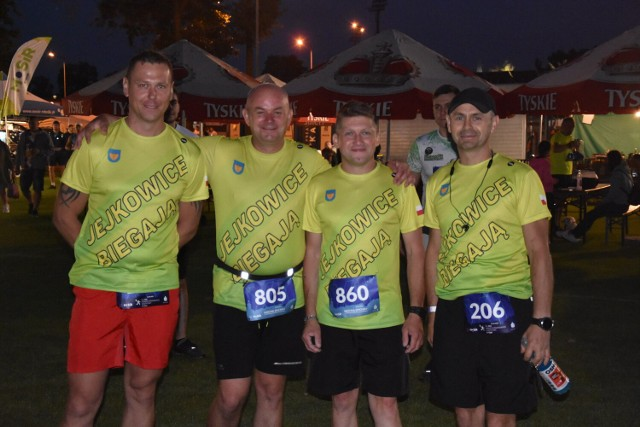 Uczestnicy Rybnickiego Półmaratonu Księżycowego pobiegli ulicami niemal całego miasta.