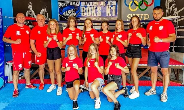 Kadra narodowa U14 w boksie gościła w sali treningowej Sportów Walki Piła. Młode zawodniczki przebywają obecnie na zgrupowaniu w pobliskim Wałczu