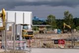 Wałbrzych: Niebawem koniec prac na budowie bazy logistycznej Panattoni przy ulicy Ogrodowej (ZDJĘCIA)