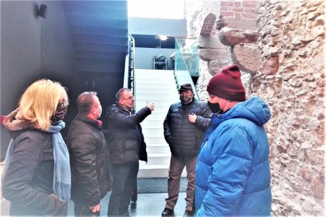 Naukowcy z Uniwersytetu Śląskiego byli pod wrażeniem powstającej wystawy multimedialnej ukazującej historię Olkusza