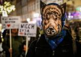 Gdańszczanie zaprotestowali przeciw mordowaniu dzików