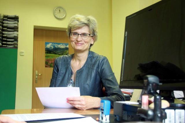 Wanda Michaluk z Dęblina przyjechała do lubelskiego NFZ po kartę EKUZ, bo w przyszłym tygodniu wybiera się na wakacje do Danii