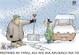 Zaskoczeni kierowcy, pierwszy śnieg i odśnieżanie - internauci o zimie [MEMY]