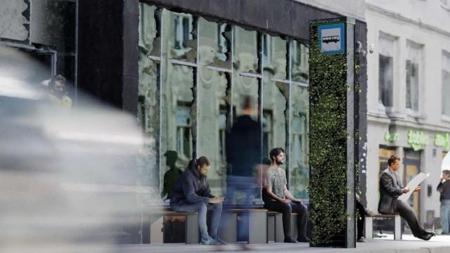 W Poznaniu mogą pojawić się ekologiczne słupy przystankowe. Właśnie rozstrzygnięto konkurs projektowy dotyczący zielonych, ekologicznych słupów informacyjnych. Zobacz, jak miałyby wyglądać. Przejdź dalej --->
