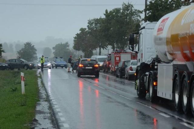 Droga w Wabczu była zablokowana. Miejsce chroniono bardziej niż zwykle przed obiektywami fotoreporterów