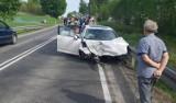 Tragiczny wypadek na DK79. Nie żyją jaworznianie ZDJĘCIA
