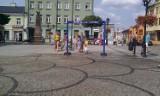 Kurtyna wodna stanęła w centrum Chełma. Zrobili ją pracownicy MPGK