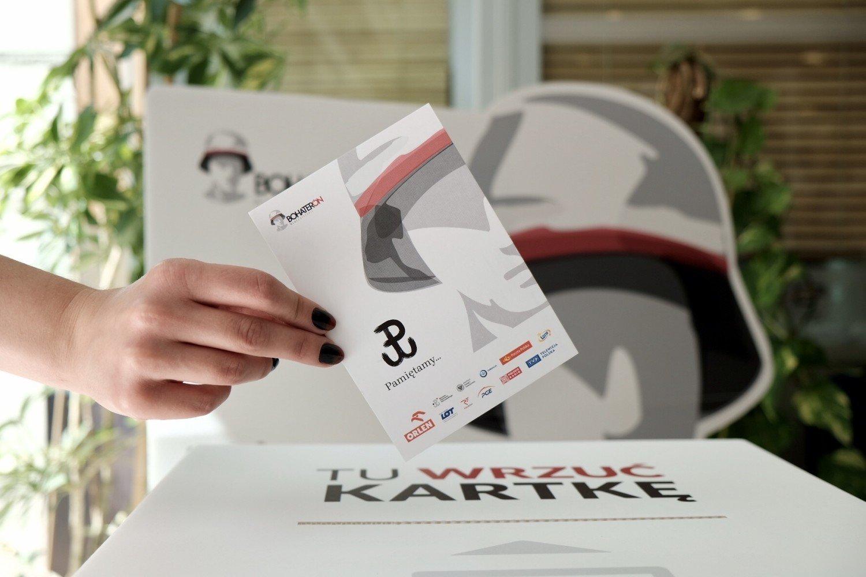 BohaterON. Rusza akcja wysyłania pocztówek do Powstańców ...
