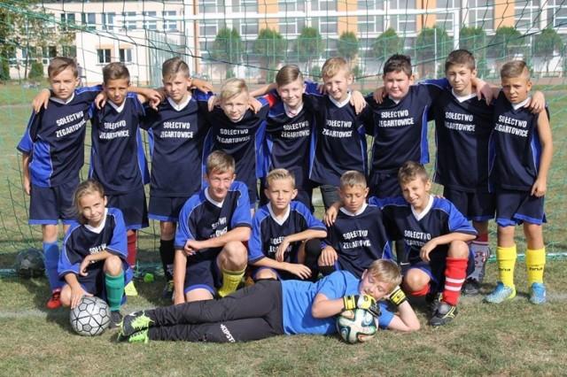 W zawodach najlepiej spisali się młodzi zawodnicy z Zegartowic.