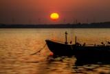 Bajecznie bursztynowy zachód słońca w Chałupach   ZDJĘCIA