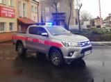 Nowy wóz i namiot pneumatyczny dla krotoszyńskich strażaków [ZDJĘCIA]
