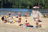 Czwartkowe szaleństwo na Golejowie. Relaks na plaży i zabawy w wodzie (ZDJĘCIA, WIDEO)