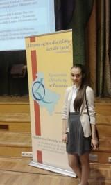 Justyna Szczepaniak, kaliska gimnazjalistka, wygrała wojewódzki konkurs języka polskiego