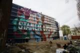 Nowy mural powstaje w Łodzi [ZDJĘCIA]