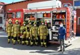 Strażacy z OSP Pszczółki dzięki Budżetowi Obywatelskiemu mają nowy sprzęt i ubrania ochronne  ZDJĘCIA