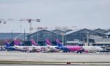Gdańskie lotnisko obsłużyło w sierpniu o połowę więcej pasażerów