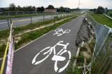Budimex w sprawie ścieżki rowerowej przy łączniku dróg krajowych w Jaśle: Teren jest regularnie zalewany, potrzeba dodatkowych prac