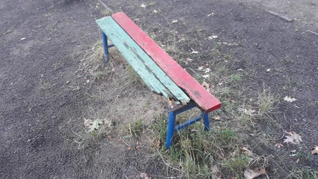 Tak dziś wygląda plac zabaw przy Przedszkolu nr 20 w Dąbrowie Górniczej