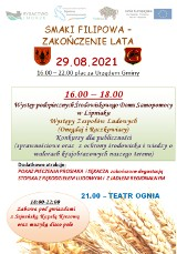 Smaki Filipowa – zakończenie lata. Koncerty, atrakcje i potańcówka pod gwiazdami