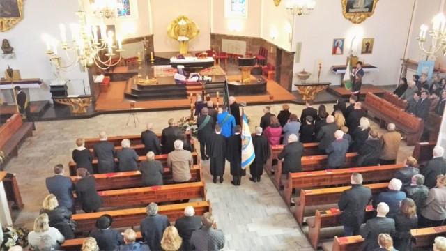 Pogrzeb Fryderyka Szendery w Suszcu