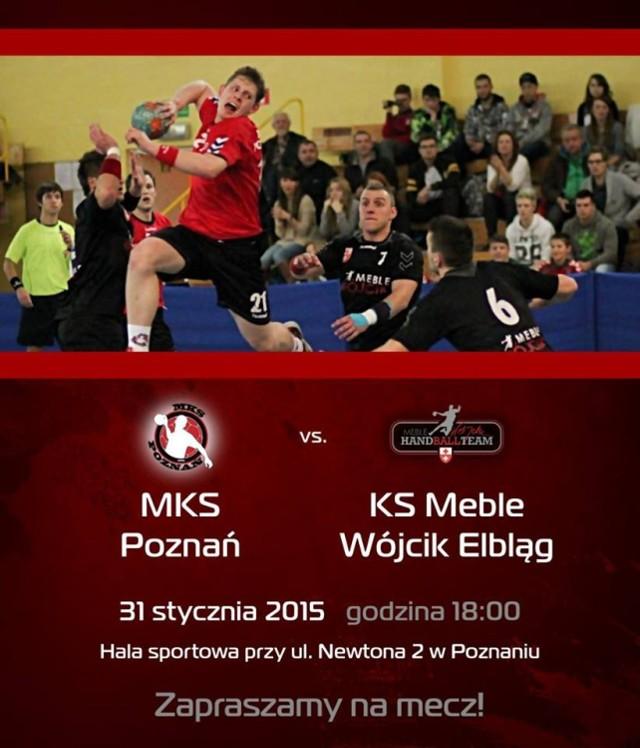 MKS Poznań zmierzy się KS Meble Wójcik Elbląg