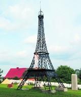 Repliki znanych budowli - Park Miniatur w Chocielewku