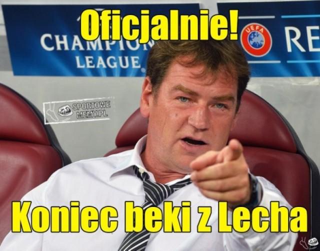 Więcej memów o Lechu Poznań znajdziecie TUTAJ
