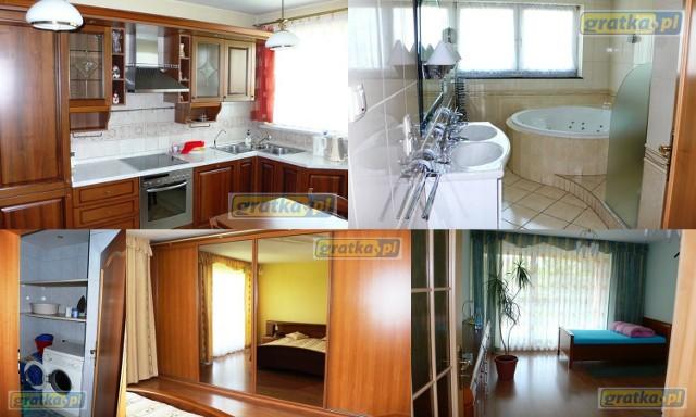 ul. Gałeczki 3 piętro, 5 pokoi, 156m kw., 1999 rok.  Mieszkanie składa się z 5 pokoi, osobnej kuchni, łazienki z wc, oddzielnego wc, przedpokoju oraz tarasu (45 m kw.).  Wyposażone w 4 zabudowane szafy, meble kuchenne i sprzęt agd, komplet wypoczynkowy oraz umeblowane sypialnie.  Okna nowe plastikowe antywłamaniowe. Na ścianach glazura, gładź. Na podłogach panele i kafle.
